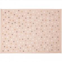 grand tapis enfant acrylique beige pois tricolors 200 x 300 cm par lorena canals. Black Bedroom Furniture Sets. Home Design Ideas