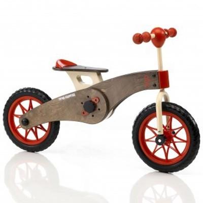 Tricycle et draisienne 2 en 1 bois  Italtrike