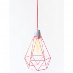 Lampe baladeuse Diamond 1 rose