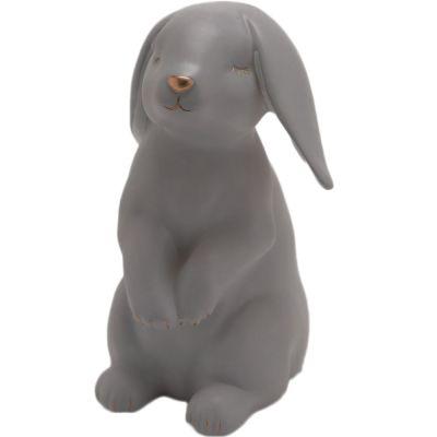 Veilleuse lapin gris (21 cm)  par Amadeus Les Petits