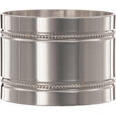 Rond de serviette Perles personnalisable (argent massif 925°)
