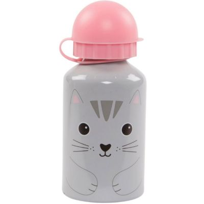 Gourde embout sport Kawaii Friends Nori le chat (300 ml)  par sass & belle