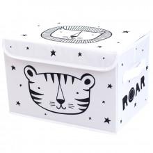 Coffre à jouet souple Tigre  par A Little Lovely Company