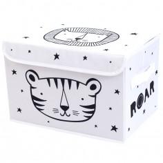 Coffre à jouet souple Tigre