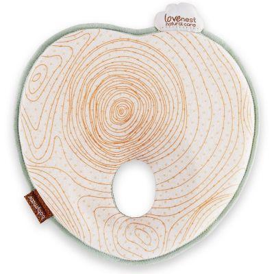 Coussin anti tête plate Lovenest Natural Care arbre  par Babymoov