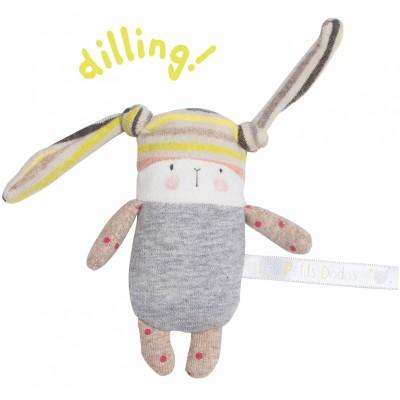 Hochet petit lapin Nin-Nin Les Petits Dodos  par Moulin Roty