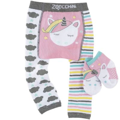 Legging et chaussettes Allie la licorne ailée (12-18 mois) Zoocchini