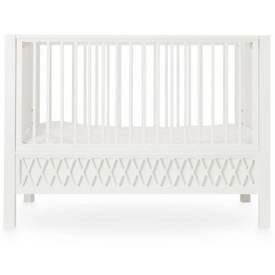 Lit bébé à barreaux Harlequin blanc (60 x 120 cm)  par Cam Cam Copenhagen