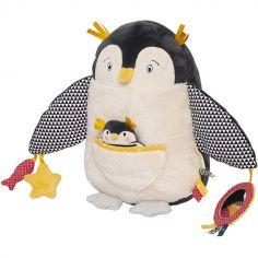 Peluche d'activités pingouin Les Nanouks