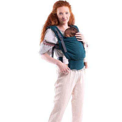 Porte bébé en coton bio Boba X Atlantic  par Boba