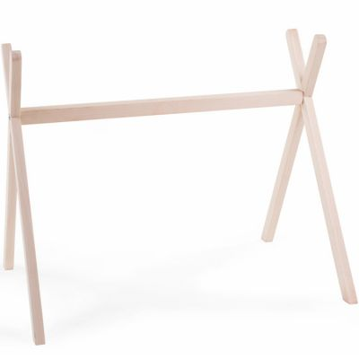 Arche d'activités en bois Tipi Gym naturel  par Childhome