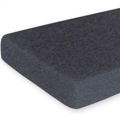 Drap housse de berceau Svenn gris anthracite (40 x 90 cm)