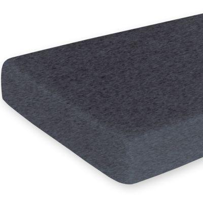 Drap housse de berceau Svenn gris anthracite (40 x 90 cm)  par Bemini