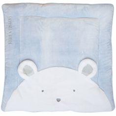 Tapis de jeu Tapidou ours bleu (100 x 100 cm)