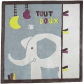 Tapis carré India (110 x 110 cm) - Sauthon Baby Déco