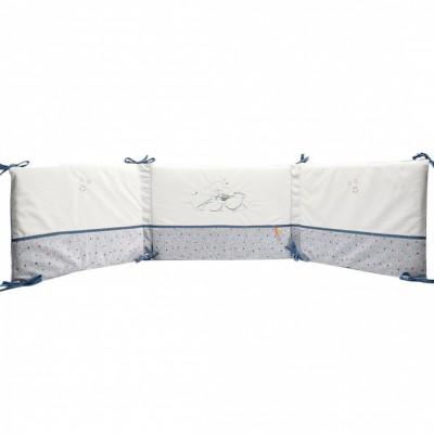 tour de lit guss et victor pour lits 60 x 120 cm et 70 x. Black Bedroom Furniture Sets. Home Design Ideas
