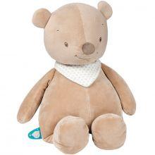 Peluche géante Basile l'ours (75 cm)  par Nattou