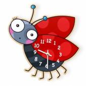 Horloge coccinelle - Série-Golo