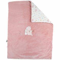 Couverture bébé en veloudoux Lina & Joy (75 x 100 cm)