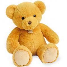 Peluche ours Titours jaune miel (34 cm)