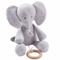 Peluche musicale Tembo l'éléphant (32 cm)