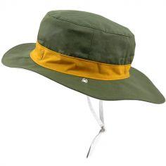 Chapeau réversible Kapel anti-UV Panama kaki (6-12 mois)