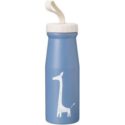 Thermos Girafe bleu indigo (380 ml)  par Fresk
