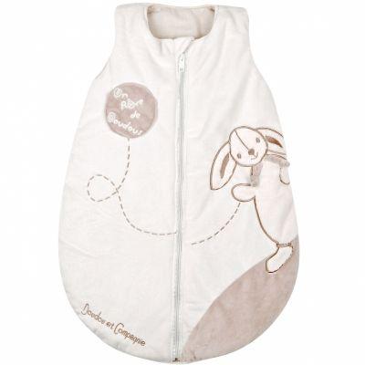 Gigoteuse chaude Mon tout petit lapin (70 cm)  par Doudou et Compagnie