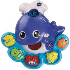 Jouet de bain musical Lolibulles, ma baleine à bulles