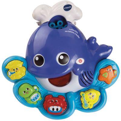 Jouet de bain musical Lolibulles, ma baleine à bulles  par VTech