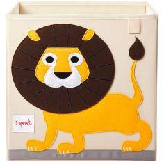 Cube de rangement Lion (33,5 x 33,5 x 33,5 cm)