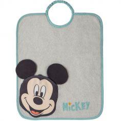 Bavoir élastique Bagolo Mickey à poche réversible