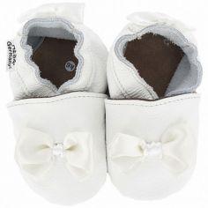 Chaussures de cérémonie noeud en satin (12-18 mois)