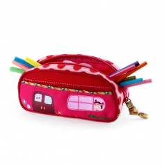 Trousse fille rose Liz
