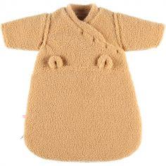 Gigoteuse chaude en sherpa Mix & Match camel TOG 2 (50 cm)