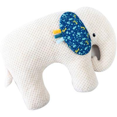 Coussin cale-bébé Mo l'éléphant Zanimo  par Domiva