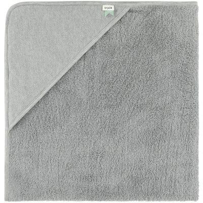 Cape de bain Grain gris (90 x 90 cm)  par Trixie