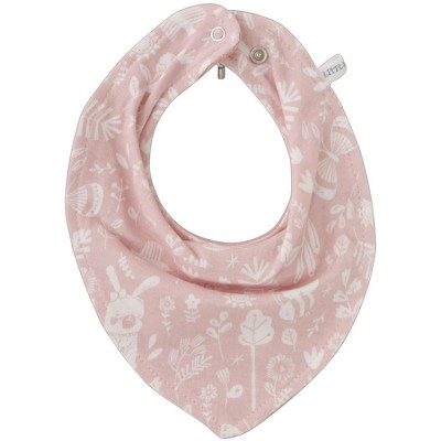 Bavoir bandana Adventure pink  par Little Dutch