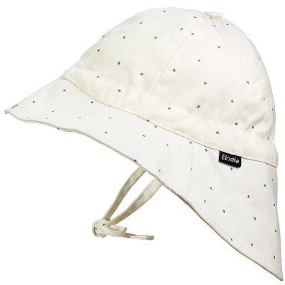 Chapeau été à pois Tender Blue Dew (0-6 mois)  par Elodie Details