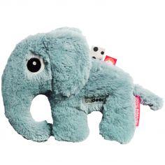 Peluche éléphant Elphee bleu (21 cm)