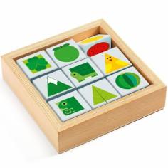 Jeu de cubes en bois TriBasic