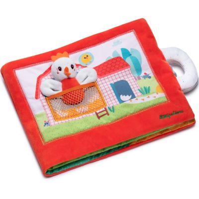 Livre bébé en tissu Paulette la poule cherche ses poussins  par Lilliputiens