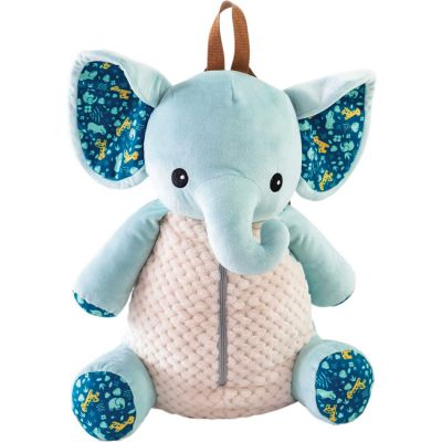 Range pyjama et sac à dos bébé Mo l'éléphant Zanimo  par Domiva