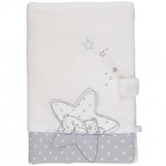 Protège carnet de santé étoiles Poudre d'étoiles - Noukie's