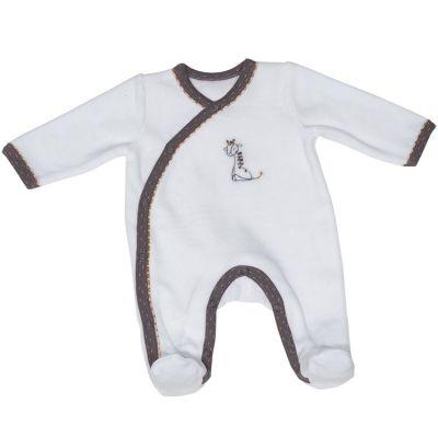 Pyjama chaud girafe Kenza (3 mois)  par Sauthon