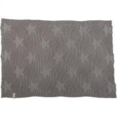 Couverture bébé Hippy Stars Pearl Grey (90 x 120 cm)