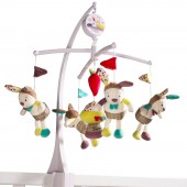 Mobile musical Tinoo - Sauthon Baby Déco
