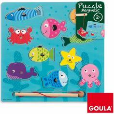 Puzzle Pêche à la ligne (10 pièces)