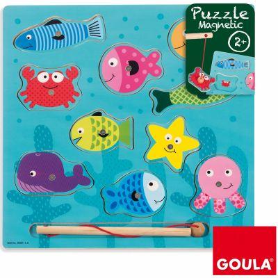 Puzzle Pêche à la ligne (10 pièces)  par Goula