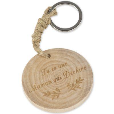 Porte-clés en bois Tu es une Maman qui déchire  par Arty Fêtes Factory